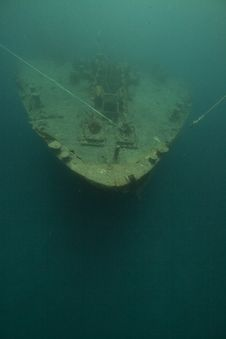 Free Bow Of The Thistlegorm. Stock Image - 16960081