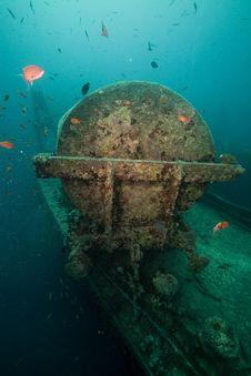 Cargo Of The Thistlegorm Wreck. Stock Image