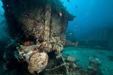 Cargo Of The Thistlegorm Wreck. Royalty Free Stock Photography