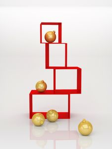 Free Christmas Balls Stock Photo - 16960250