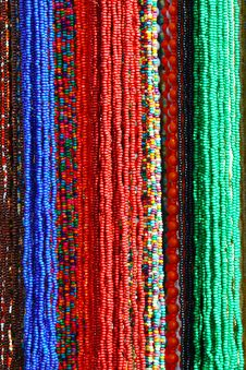 Free Colorful Beads Background Stock Photography - 16960262