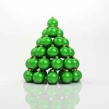 Free Green Balls Stock Images - 16960274