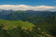 View From Monte Generoso Stock Photography