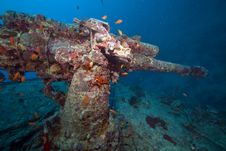 Free Weapons Of The Thistlegorm Wreck. Royalty Free Stock Images - 16960469