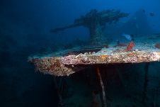Free Weapons Of The Thistlegorm Wreck. Stock Images - 16960494