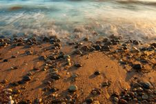 Free Sea With Stones Stock Photo - 16960500