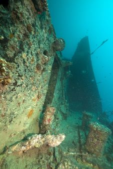 Free Stern Of The Thistlegorm Wreck. Stock Photos - 16960503