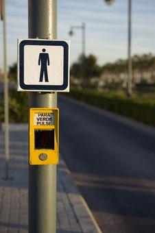 Pedestrian Signal Stock Images