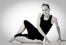 Free Gymnast Girl Royalty Free Stock Image - 16960806