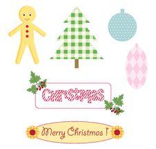 Free Christmas Scrapbooking Stock Photo - 16961160