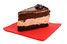 Free Chocolate Cake Stock Photo - 16961580