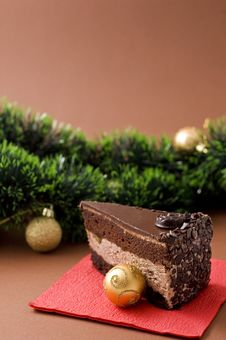 Free Chocolate Cake Royalty Free Stock Photography - 16961597