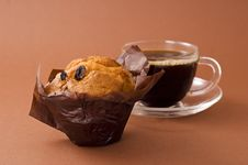 Free Coffee And Muffin Stock Photography - 16961622