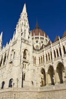 Free Hungarian Parliament Building Stock Photo - 16962400