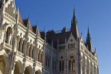 Free Hungarian Parliament Building Stock Image - 16962431
