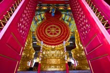 Free Chinese Temple In Thailand Royalty Free Stock Photography - 16962577