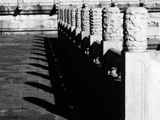 Free White Marble Railings In Forbidden City Stock Photos - 16962863