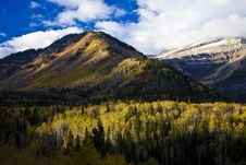 Free Utah Mountains In The Fall Royalty Free Stock Image - 16962936
