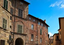 Free Residential Apartment Buildings In Lucca Royalty Free Stock Image - 16963086