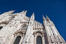 Free Cathedral In Milan. Stock Images - 16963114