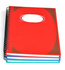 Free Stack Of Notebooks Royalty Free Stock Images - 16963789