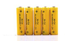 Free Rechargeable Batteries Stock Image - 16963821