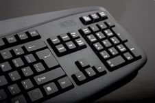 Free Close-up Of Black Keyboard Royalty Free Stock Image - 16963886