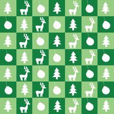 Free Christmas Green Wallpaper Royalty Free Stock Image - 16964176