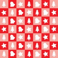 Christmas Red Wallpaper Stock Photo