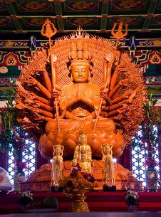 Free Thousand-Hand Bodhisattva Stock Photo - 16964370