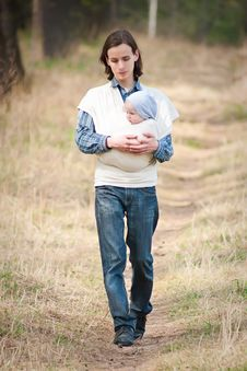 Free Father Walking Stock Photography - 16964602