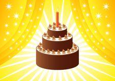 Free Chocolate Cake Royalty Free Stock Image - 16965156