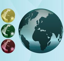 Free Globe Stock Images - 16965724
