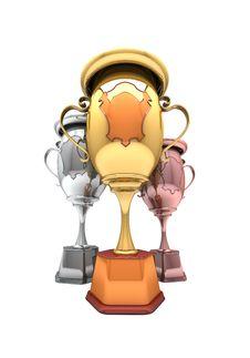 Free Sport Winning Cups Stock Image - 16966411