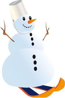 Free Snowman Stock Photo - 16966990