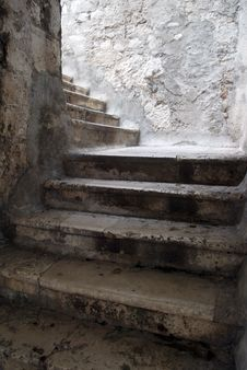 Free Stone Stairs Royalty Free Stock Photos - 16967178