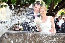 Free Bride And Groom Stock Photos - 16967383