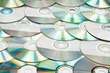 Free CDs Background Royalty Free Stock Images - 16967449