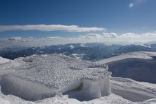 Free Winter Landscape On Bjelasnica Mountain In Bosnia Royalty Free Stock Images - 16967559
