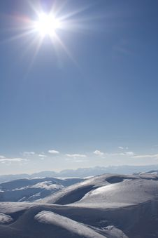 Free Winter Landscape On Bjelasnica Mountain In Bosnia Stock Photos - 16967583