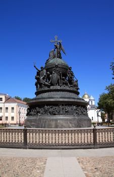 Free Monument Of The Millennium To Russia Royalty Free Stock Photo - 16967985
