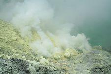 Free Kwah Ijen Crater - Java Stock Image - 16968571
