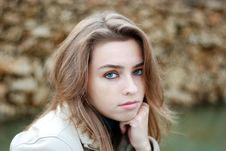 Free Sad Look Royalty Free Stock Photography - 16968647