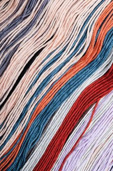 Free Multicolored Embroidery Threads Backgrounds Royalty Free Stock Photo - 16968805