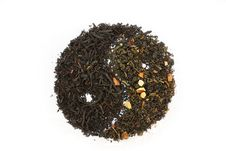 Free Sprinkle Of Green And Black Tea Stock Image - 16968841