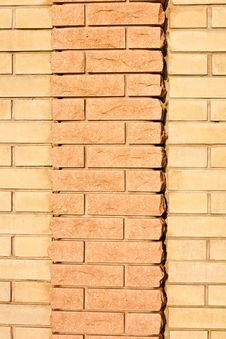 Free New Brick Wall Texture Stock Image - 16969391