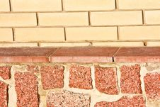 Free New Brick And Stone Wall Texture Royalty Free Stock Images - 16969429