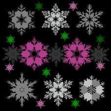 Free Snowflakes Stock Image - 16969941