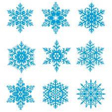 Free Snowflakes Royalty Free Stock Photos - 16969978