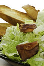 Free Eat Caesar Salad Royalty Free Stock Photography - 16971967